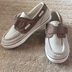 Cherokee Boys Canvas Boat Shoes - Size 12